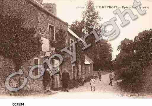 Villes et villages en cartes postales anciennes .. - Page 25 Photos-carte-detroit-calvados-PH015875-A