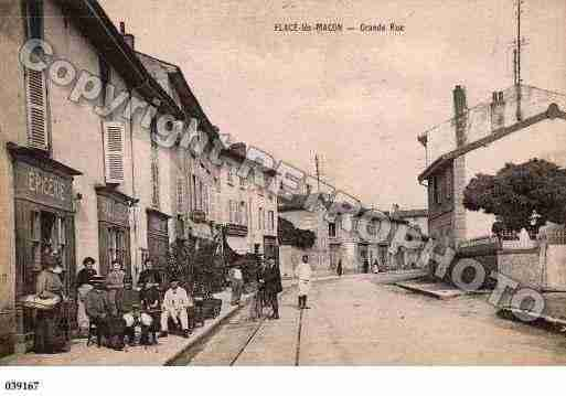 Ville de FLACELESMACON, carte postale ancienne
