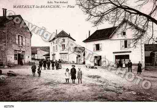 Ville de MARTAILLYLESBRANCION, carte postale ancienne