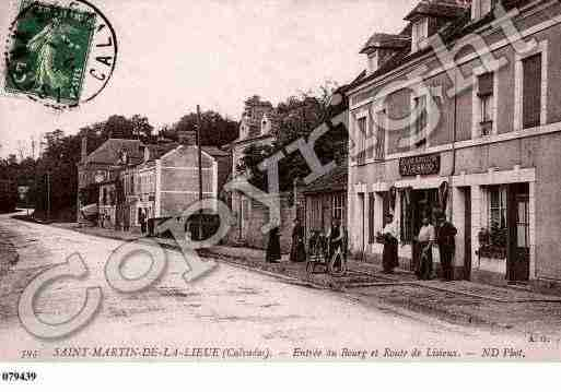 Ville de SAINTMARTINDELALIEUE, carte postale ancienne