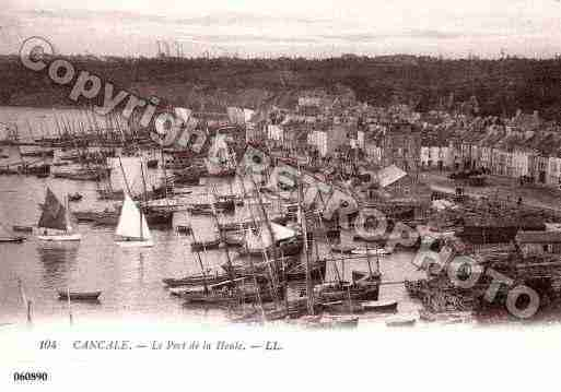 Ville de CANCALE, carte postale ancienne