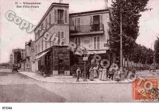 ville de vincennes ph067176 c photographies reproduites partir d 39 une carte ancienne. Black Bedroom Furniture Sets. Home Design Ideas
