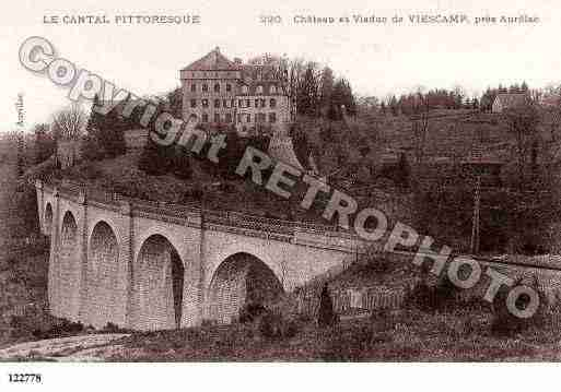 Ville de LACAPELLEVIESCAMP, carte postale ancienne