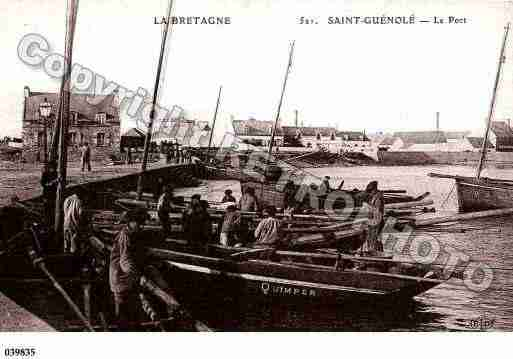 Ville de PENMARCH, carte postale ancienne