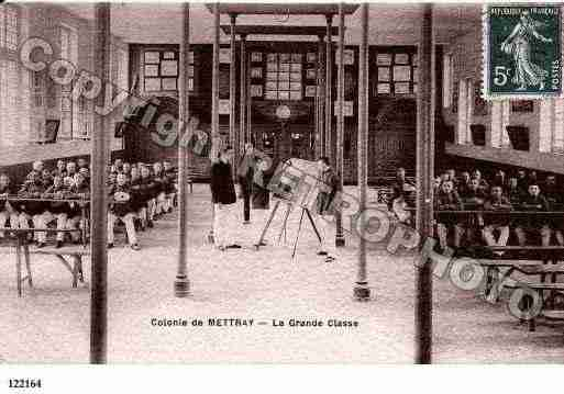 Ville de METTRAY, carte postale ancienne