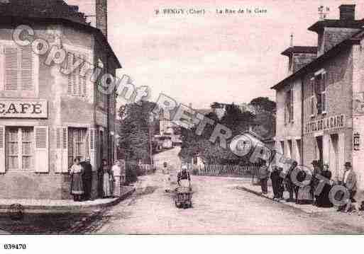 Ville de BENGYSURCRAON, carte postale ancienne