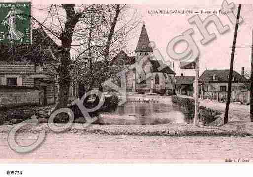Ville de CHAPELLEVALLON, carte postale ancienne