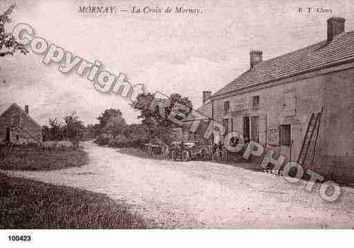 Ville de MORNAY, carte postale ancienne