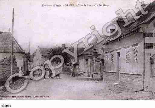 Villes et villages en cartes postales anciennes .. - Page 22 Photos-carte-ormes-aube-PH011179-B