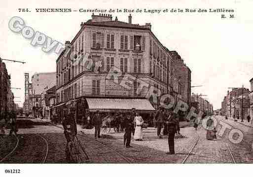 ville de vincennes ph067179 e photos partir d 39 une carte. Black Bedroom Furniture Sets. Home Design Ideas