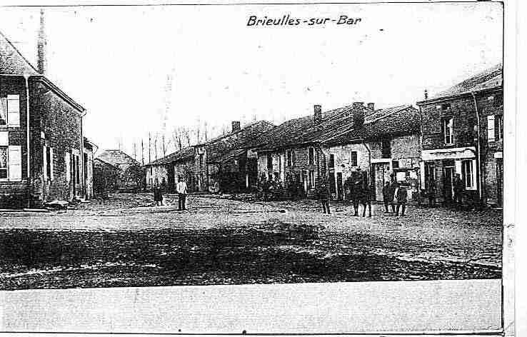 Ville de BRIEULLESSBAR, carte postale ancienne