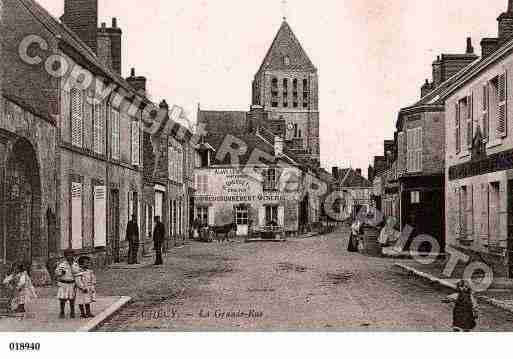 Ville de CHECY, carte postale ancienne