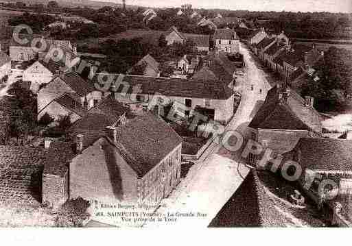 Ville de SAINPUITS, carte postale ancienne