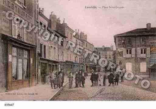Ville de luneville ph033282 g clich inspir d 39 une carte for Piscine de luneville