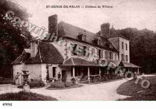 Ville de SAINTDENISDEPALIN, carte postale ancienne