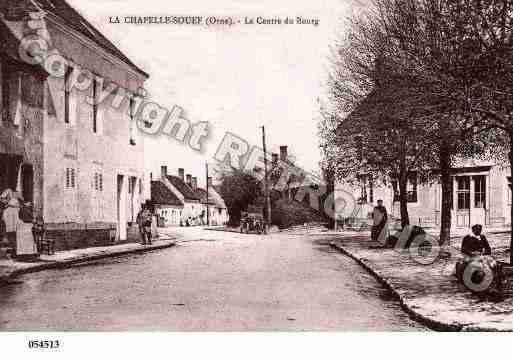 Ville de CHAPELLESOUEF(LA), carte postale ancienne