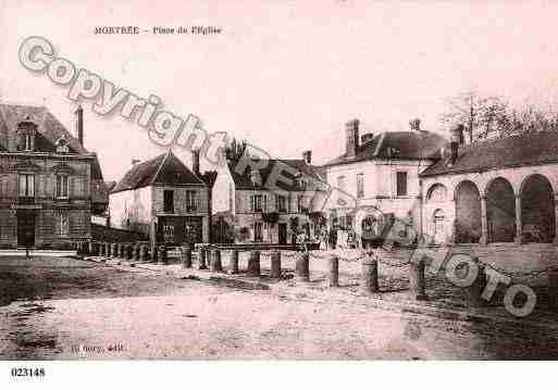 Ville de MORTREE, carte postale ancienne