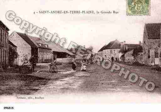 Ville de SAINTANDREENTERREPLAINE, carte postale ancienne