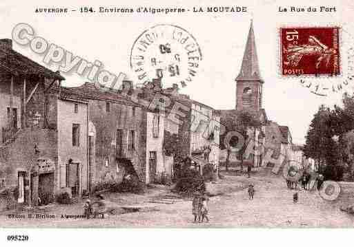 Ville de MOUTADE(LA), carte postale ancienne