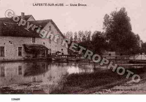 Ville de LAFERTESURAUBE, carte postale ancienne