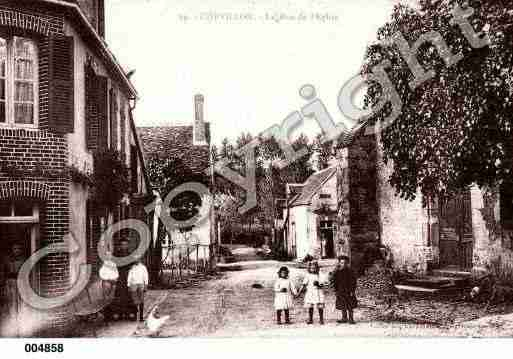 Ville de CHEVILLON, carte postale ancienne