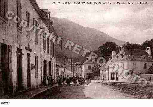 Ville de LOUVIEJUZON, carte postale ancienne