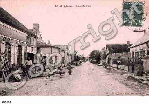 Ville de SALON, carte postale ancienne