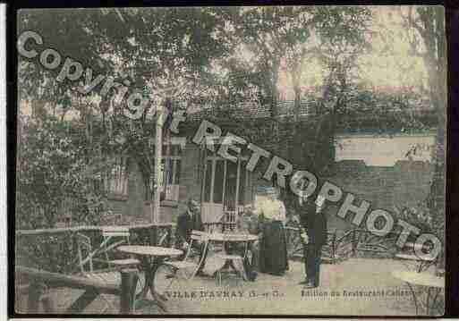 Ville de VILLED'AVRAY, carte postale ancienne