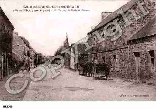 Ville de PLOUGUERNEVEL, carte postale ancienne