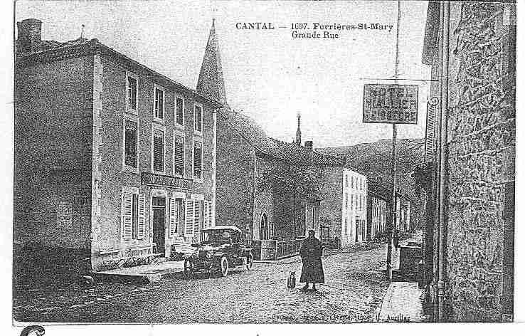 Ville de FERRIERESSAINTEMARY, carte postale ancienne