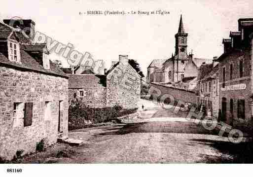 Ville de SIBIRIL, carte postale ancienne