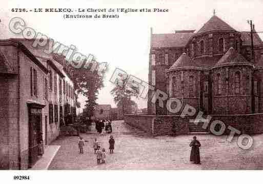 Ville de RELECQUKERHUON(LE), carte postale ancienne