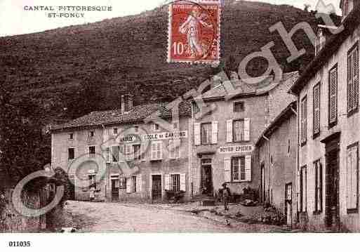 Ville de SAINTPONCY, carte postale ancienne