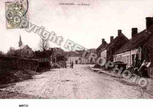Ville de COLONARDCORUBERT, carte postale ancienne
