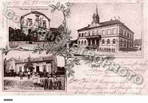 Ville de ILLFURTH, carte postale ancienne