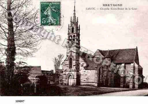 Ville de LANTIC, carte postale ancienne