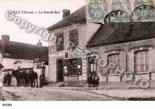Ville de PAILLY, carte postale ancienne