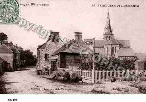 Ville de SAINTJEANDESBAISANTS, carte postale ancienne