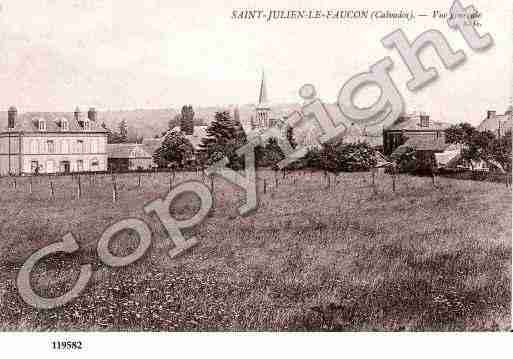 Ville de SAINTJULIENLEFAUCON, carte postale ancienne