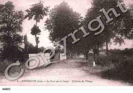 Villes et villages en cartes postales anciennes .. - Page 22 Photos-carte-reyssouze-ain-PH013494-C