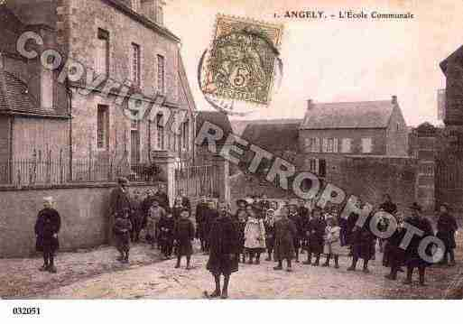 Ville de ANGELY, carte postale ancienne