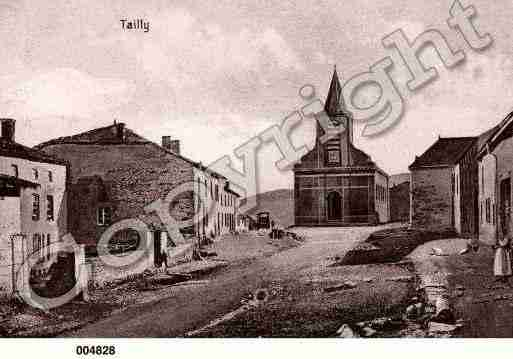Ville de TAILLY, carte postale ancienne