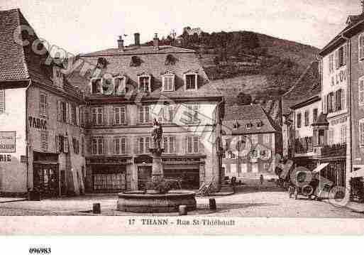 Ville de THANN, carte postale ancienne