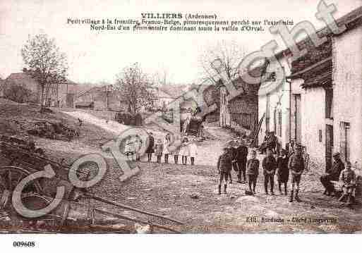 Ville de WILLIERS, carte postale ancienne