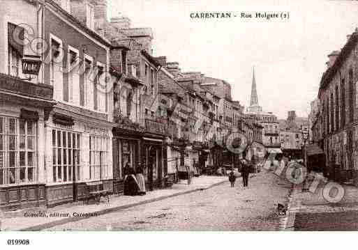 Ville de CARENTAN, carte postale ancienne