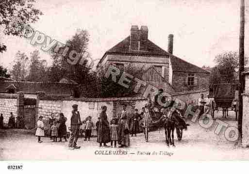 Ville de COLLEMIERS, carte postale ancienne