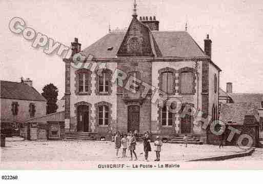 Ville de GUISCRIFF, carte postale ancienne
